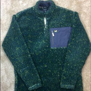 🦆 SOUTHERN MARSH Green DEEP Pile FLEECE Pullover